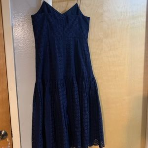 Jcrew  midi Dress sz 8 in excellent condition